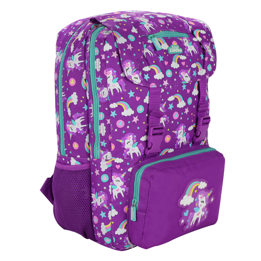 Smily Fancy Backpack Purple