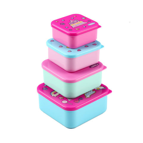 Image of Smily Multi Purpose Container Pink
