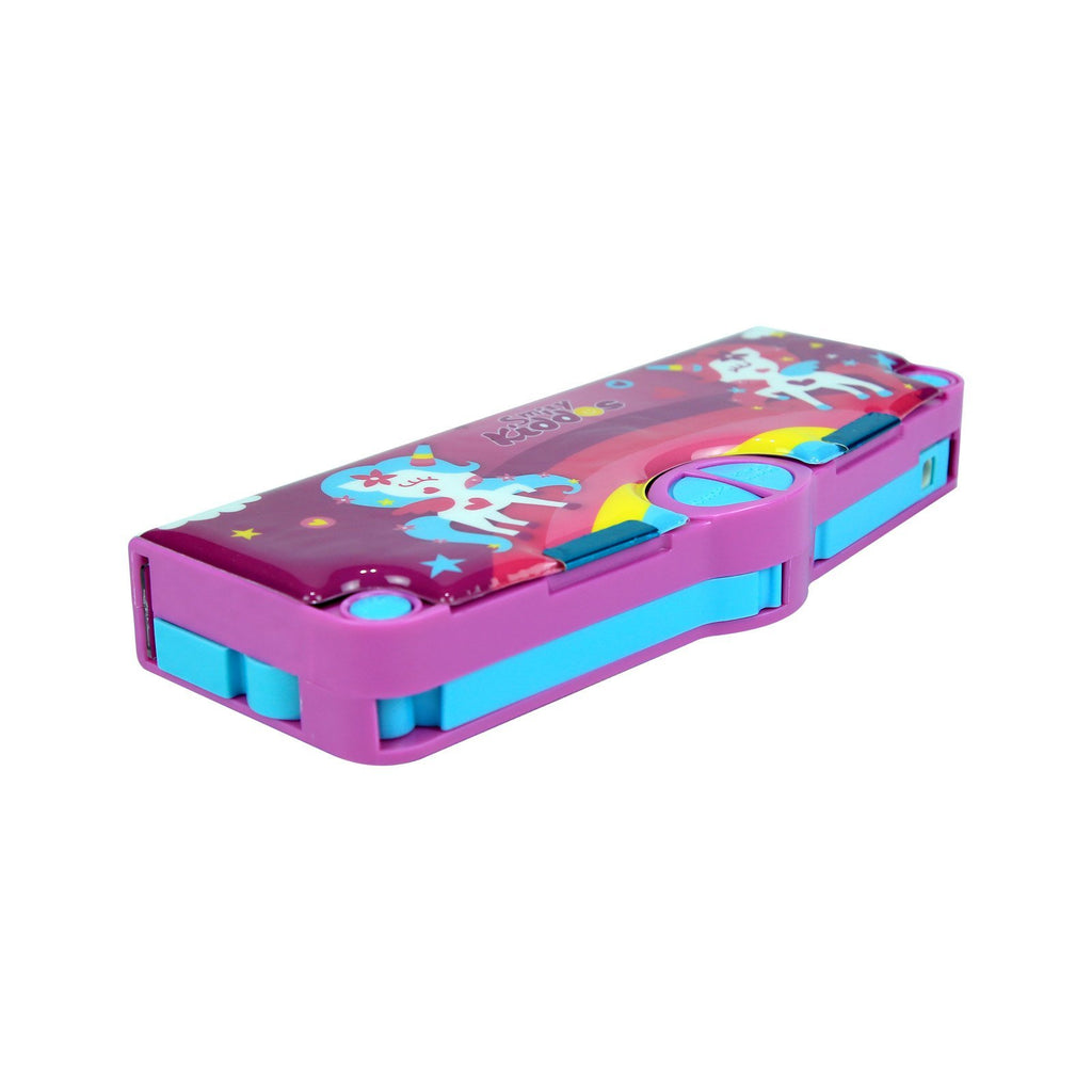 Smily Pop Pencil Box Purple