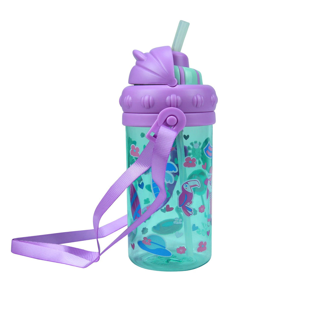 Smily Sipper Water Bottle Light blue