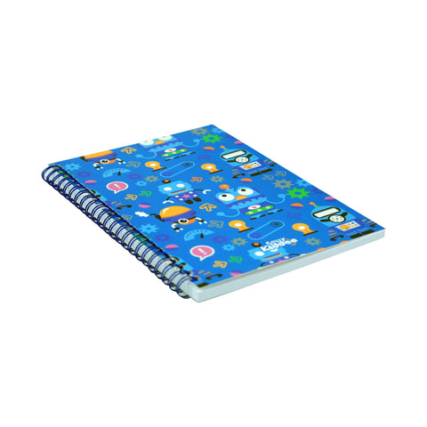Image of Smily A5 Lined Notebook Blue