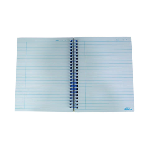 Image of Smily A5 Lined Notebook Light Blue