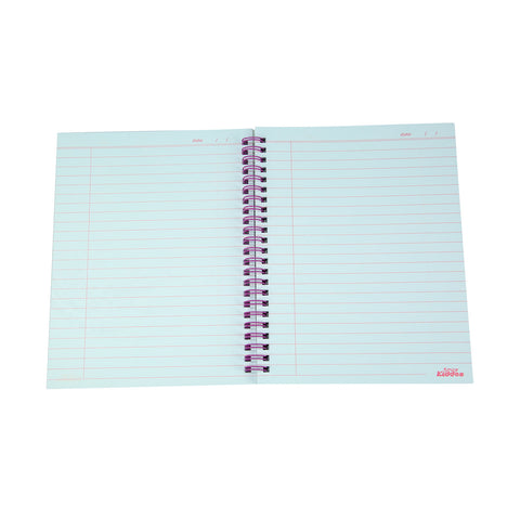 Image of Smily A5 Lined Notebook Pink