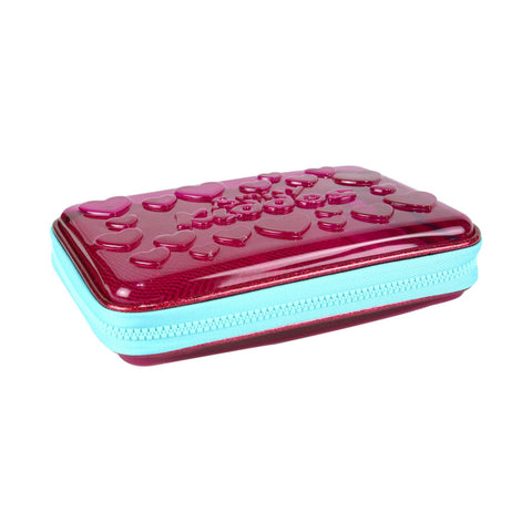 Image of Smily PVC Pencil Case Pink