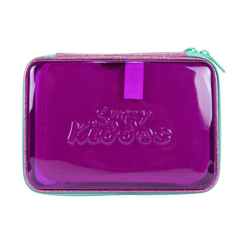 Image of Smily PVC Pencil Case Purple