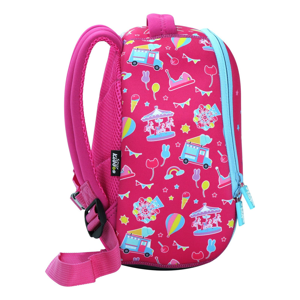 Smily Preschool Backpack Pink