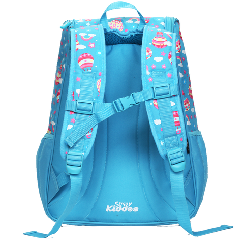 Image of Smily U Shape Backpack Light Blue