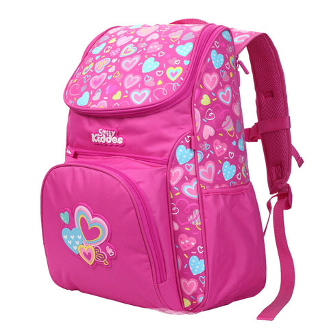 Smily U Shape Backpack Pink