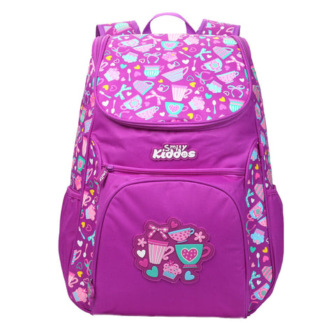 Smily U Shape Backpack Purple