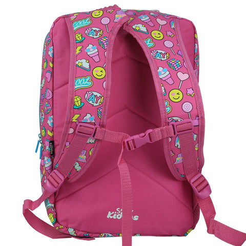 Smily Fancy Backpack Pink