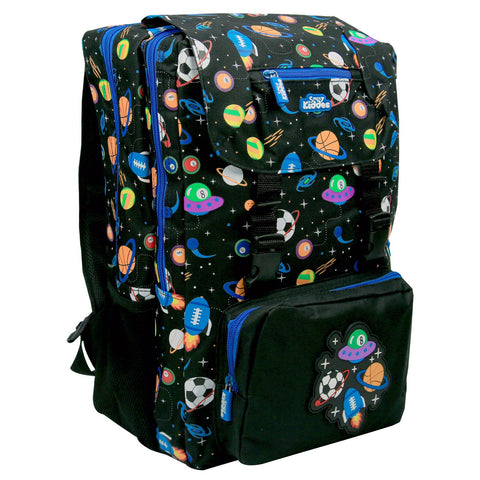 Smily Fancy Backpack Black