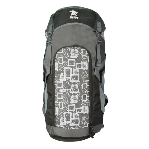 Image of Sirius Trekking Bag Grey with White print