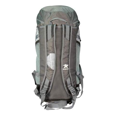 Sirius Trekking Bag Grey with White print