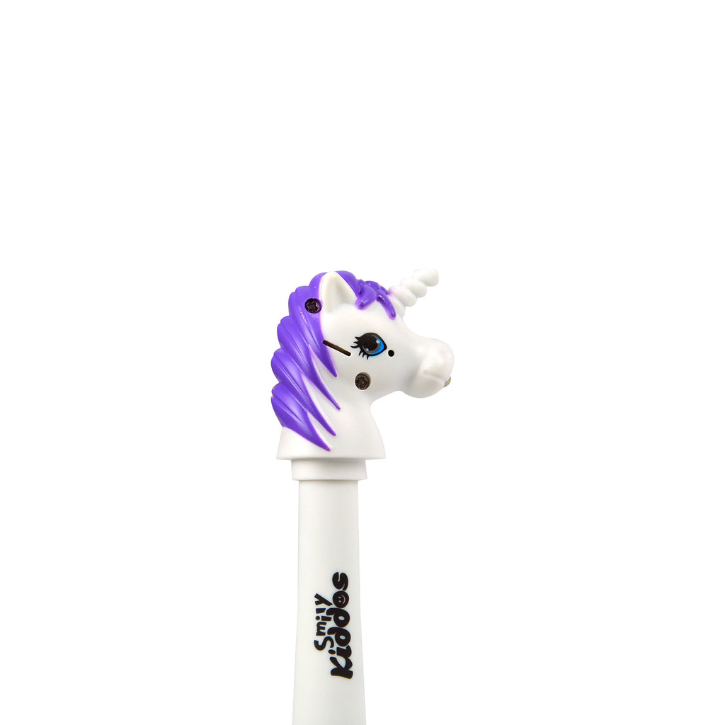 Smily Unicorn Ball Pen Purple