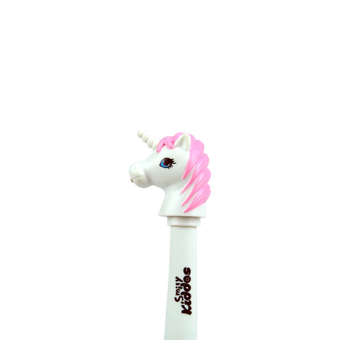 Smily Unicorn Ball Pen Pink