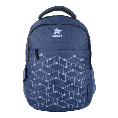 SIRIUS Laptop Backpack geometric print Blue