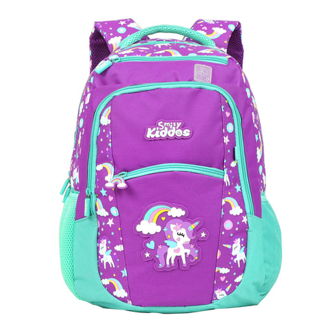 Image of Smily Unicorn Theme set of 3 ( Backpack, Lunch Bag & Pencil Pouch )