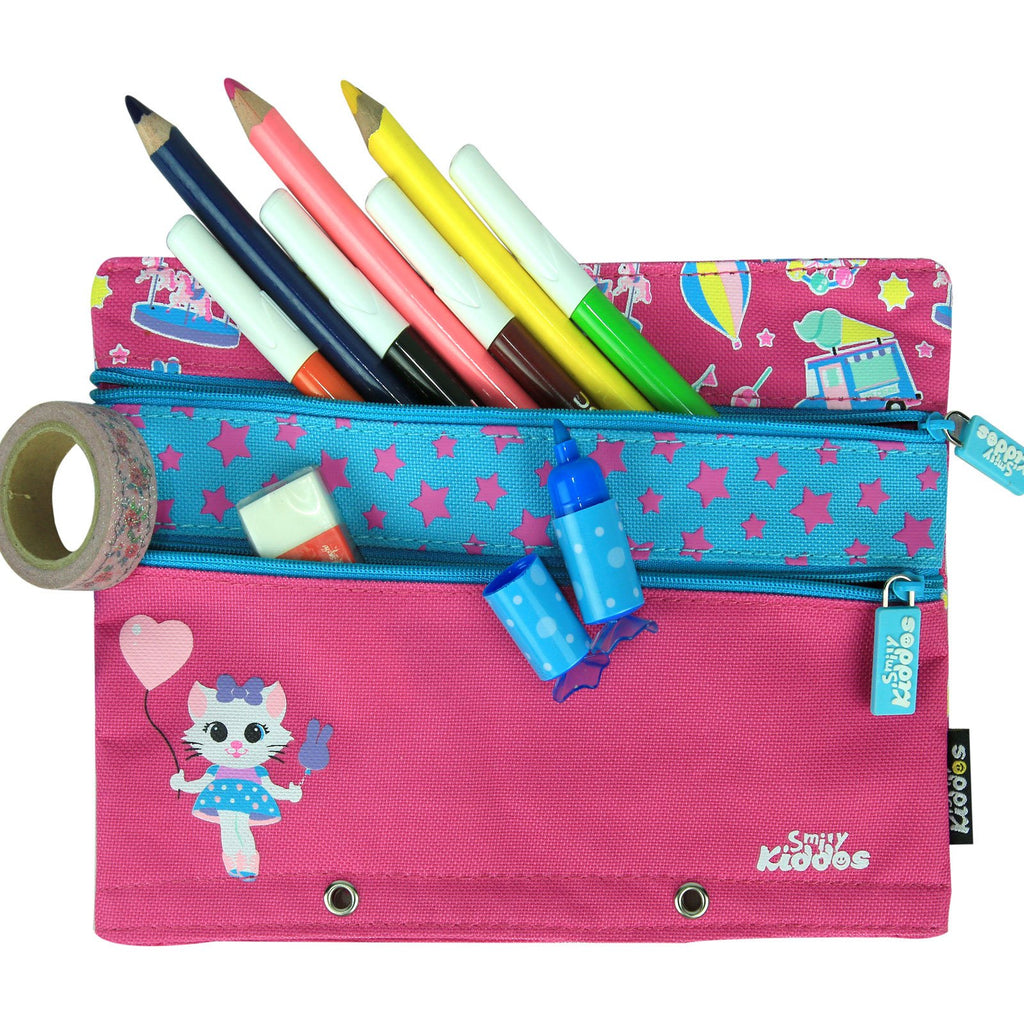Fancy A5 Pencil Case Pink