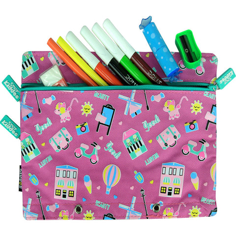 Image of Fancy A5 Pencil Case Purple