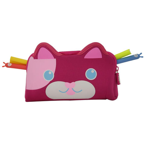 Image of Fancy Kitty Pencil Case Pink