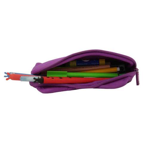 Fancy Kitty Pencil Case Purple