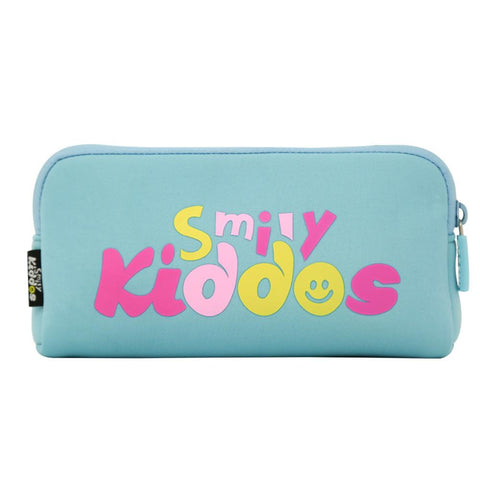 Image of Fancy Penguin Pencil Case Light Blue