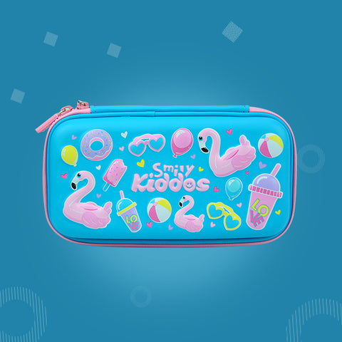 Swan Theme Combo Pack ( Backpack, Lunch Bag, Pencil Case, Water Bottle )