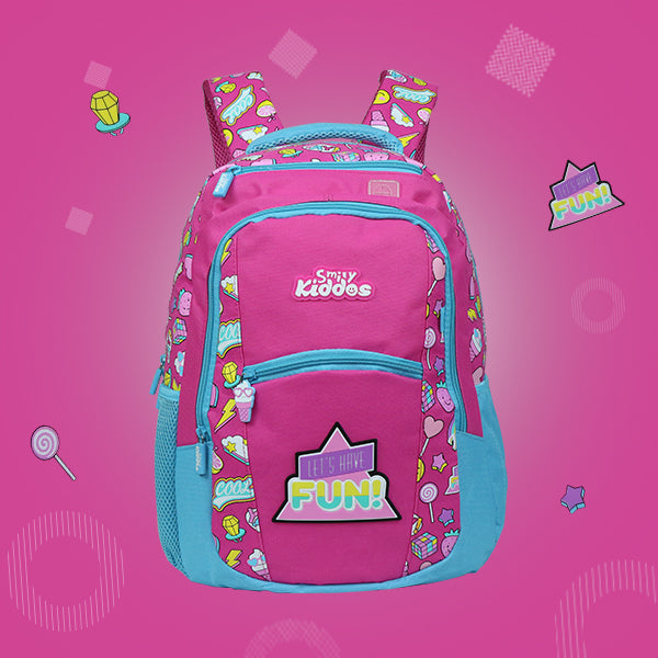 Fun Theme Combo Pack ( Backpack, Lunch Bag, Pencil Case, Water Bottle )