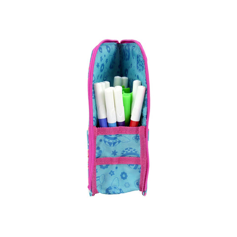 Image of Smily Pen Holder Case Light Blue