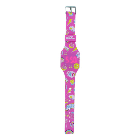 Image of Smily Digital Watch Pink