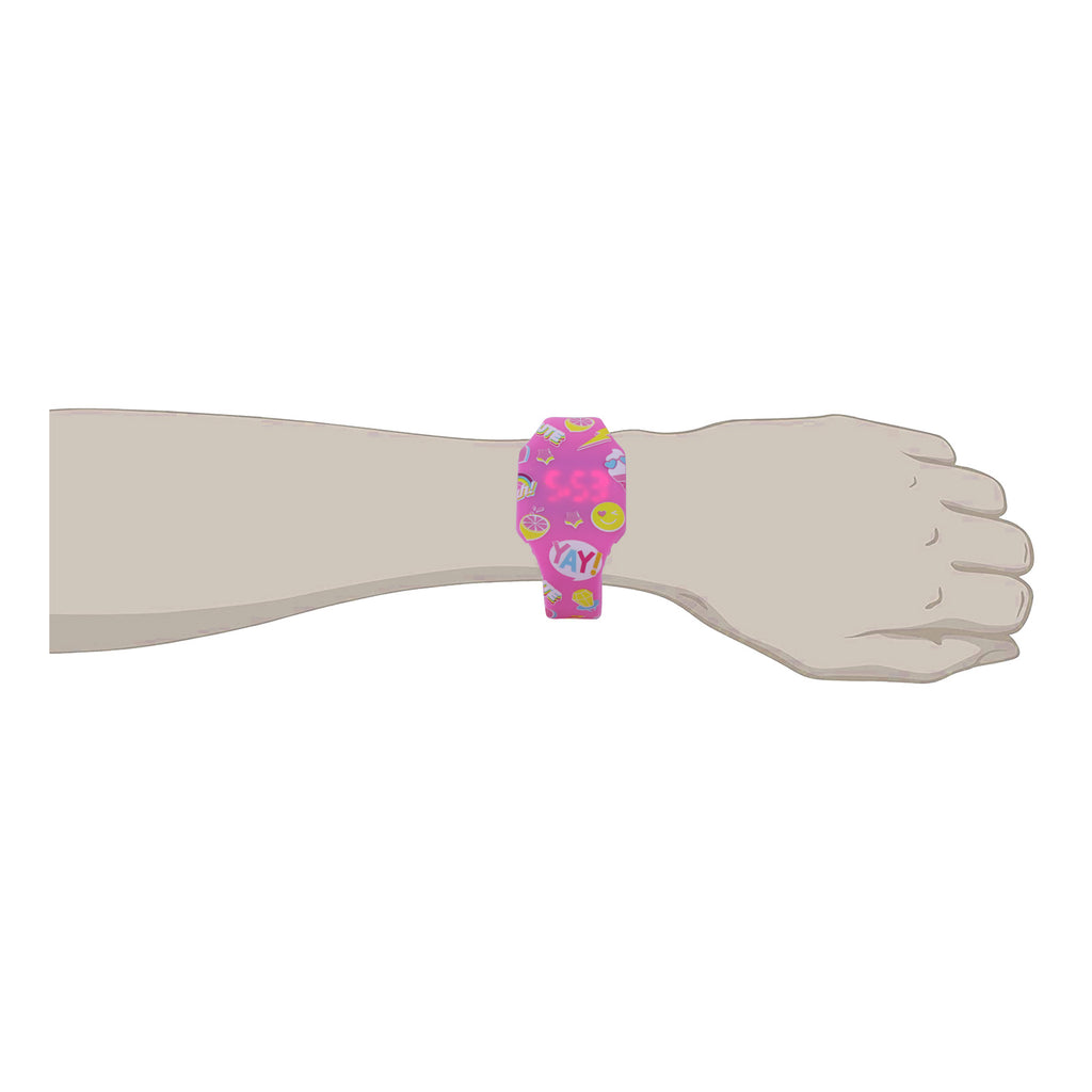 Smily Digital Watch Pink