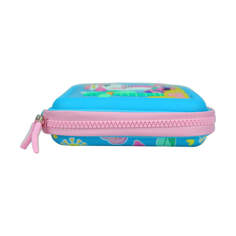 Image of Smily Scented Hardtop Pencil Box Light Blue