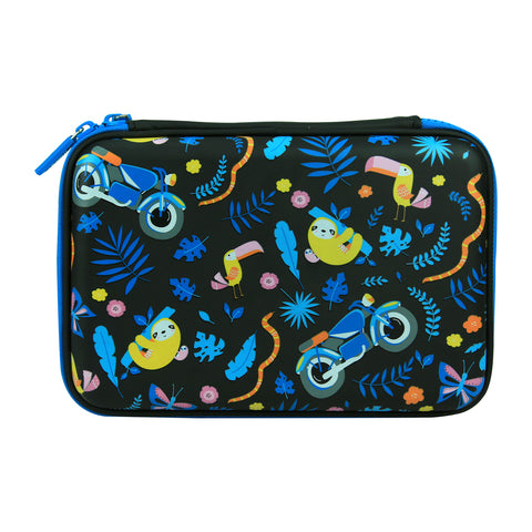 Smily  Scented Hardtop  Pencil Box Black