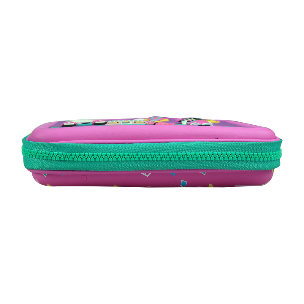 Smily Scented Hardtop Pencil Box Purple