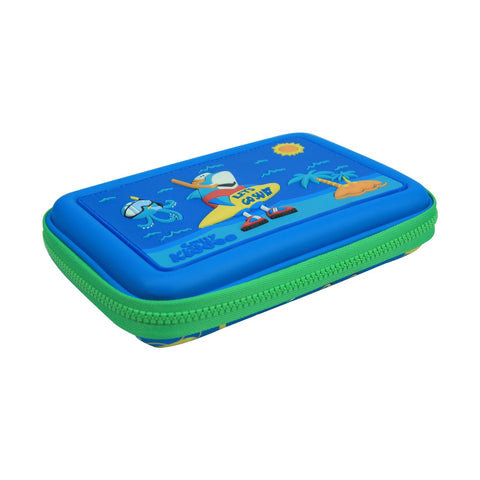Image of Smily Scented Hardtop Pencil Box Blue