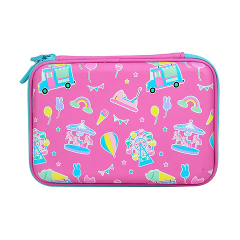 Image of Smily  Scented Hardtop  Pencil Box Pink