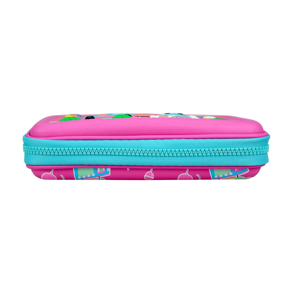Smily  Scented Hardtop  Pencil Box Pink