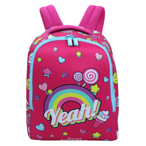 Image of Smily Set of 3 ( Backpack, Go Out Bag & Water Bottle )