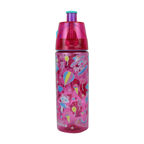 Image of Smily Kiddos Sports Drink Bottle Pink - 550 ml
