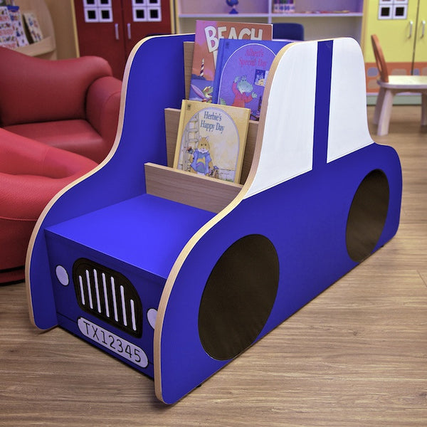 Vroom! Car-themed Bookshelf