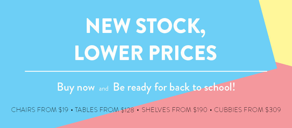 New stock, Lower prices!