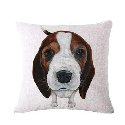 coussin chiot beagle