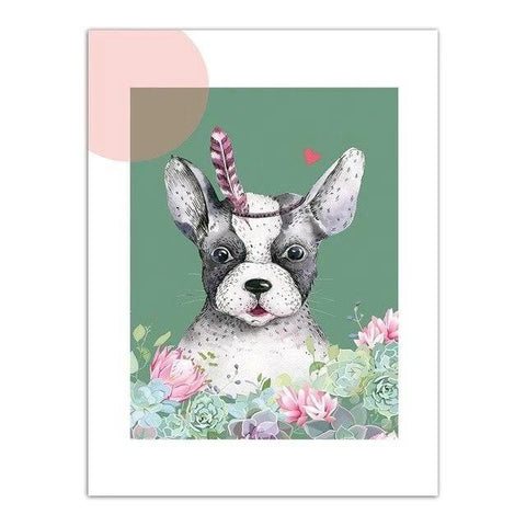 affiche boston terrier