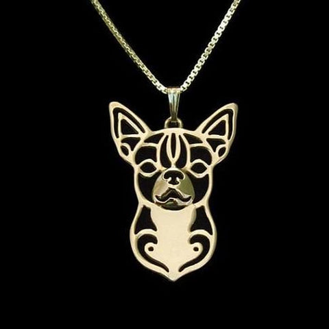 pendentif chihuahua or