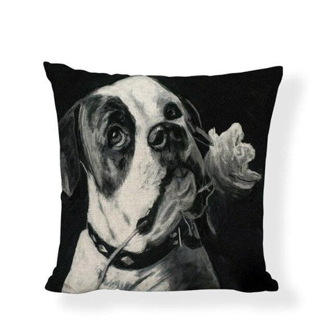 coussin boxer