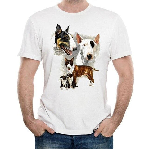 T-Shirt Chien <br> Passion Bull Terrier