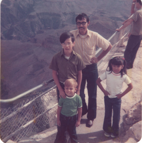Grand Canyon Family Trip, age 5.