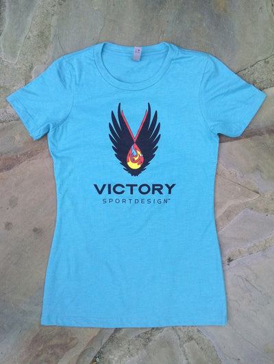 Womens Victory tee (front)