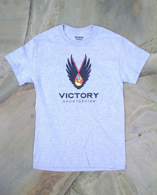 Mens Victory tee (front)