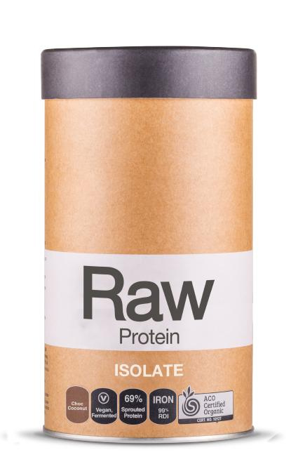 Amazonia Raw Protein Isolate Choc Coconut Supplement Oborne Health Supplies